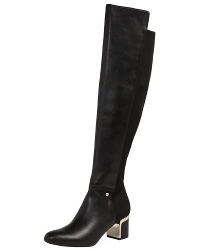 Stiefel 'cora - Knee High Boot' schwarz