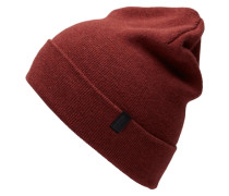 Klassische Mütze rot