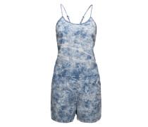 Jumpsuit aus Baumwolle 'Sara' blau