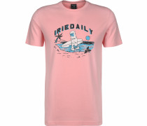 T-Shirt ' Out for Beach ' pink