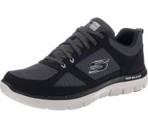 Sneaker graumeliert / schwarz / weiß