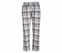 7/8-Pants beige / grau / dunkelgrau