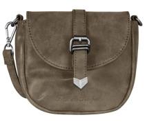 Christi Vintage Mini Bag Umhängetasche 18 cm grau