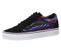 Sneaker Old Skool (Moroccan Geo) blau / pink / schwarz / weiß