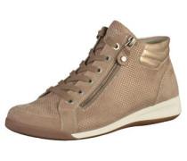 Sneaker hellbraun / gold
