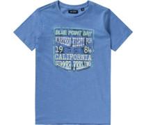 Baby Jeans für Jungen blau / weiß
