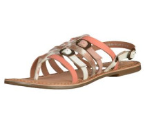 Sandalen braun / pink