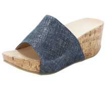 Pantolette blue denim