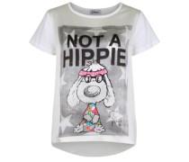 Shirt NOT A Hippie weiß