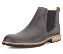 Stiefel dunkelgrau / schwarzmeliert