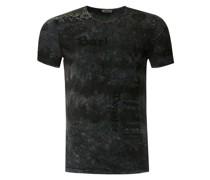 T-Shirt in Batik Optik