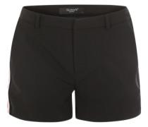 'Larna' Shorts rot / schwarz / weiß