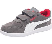 Kinder Sneakers 'Icra Trainer' aus Leder grau / rot / weiß