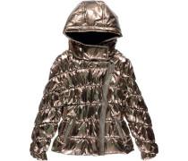 Winterjacke für Mädchen gold