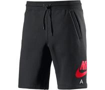 Air Heritage Shorts schwarz