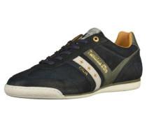 Sneaker dunkelblau / oliv / weiß