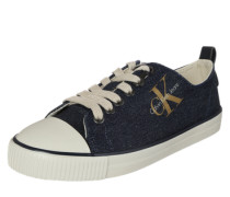Sneaker 'Donata' indigo / gold