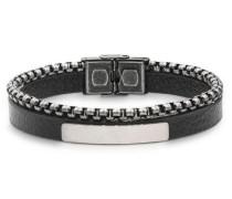 Armband grau / schwarz