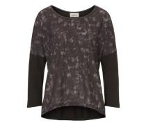 Shirt mit Allover Muster anthrazit / dunkelgrau