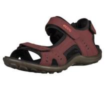 Sandalen bordeaux / schwarz