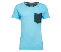 Shirt 'MT Andi round' hellblau