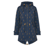Jacke 'island friese pineapple' navy