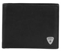 Harrison Geldbörse Leder 12cm schwarz
