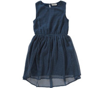 Kinder Chiffonkleid blau
