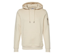Bomber Hoodie sand