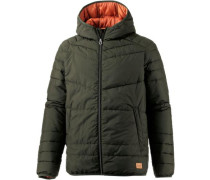 Übergangsjacke 'jorbomb Puffer Jacket Cam' oliv