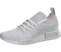 Sneaker 'nmd' hellgrau / weiß