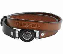 Lederarmband »Leather Spec Dx1021040« braun