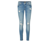 Skinny fit jeans Five LW blau