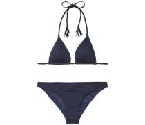 Bikini »Thdw Triangle Bikini 12« blau