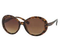 Modische Sonnenbrille braun