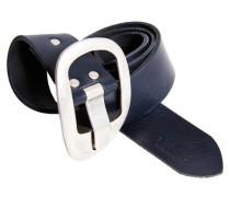Ledergürtel '0129K' blau