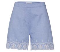 Shorts 'Craig' hellblau / weiß
