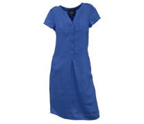 Leinenkleid blau