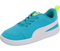Baby Sneakers 'Courtflex' blau / neonblau / neongrün / weiß