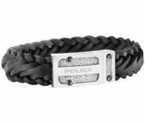 Armband 'centaur Pj26057Blb.01-L' schwarz / silber