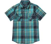 Kinder Hemd für Jungen blau / türkis / hellgrün / weiß