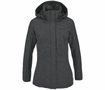 Winterjacke 'limford Jacket' anthrazit / schwarzmeliert