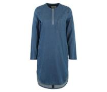 Jeanskleid mit Reißverschluss indigo