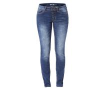 Slim Fit Jeans 'Stella' blau