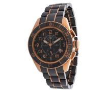 Armbanduhr 'cra079Z271H' schwarz