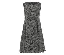 Kleid mit All Over-Print mischfarben