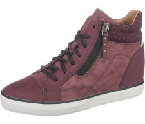 'Star' Sneakers bordeaux