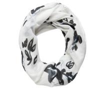 Schlauch Schal schwarz / weiß
