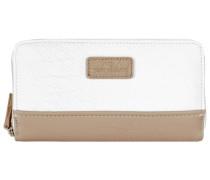 Ciara Wallets Geldbörse beige / weiß