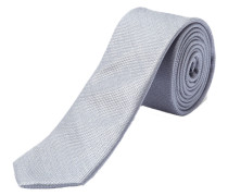 Krawatte Seide hellgrau